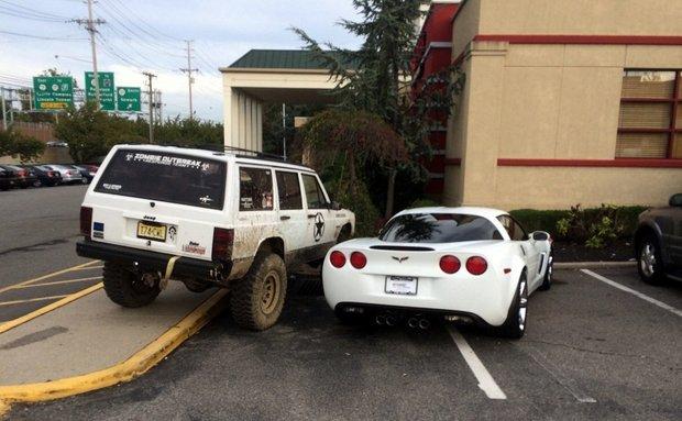 parking dispute